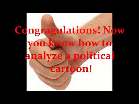 How to Analyze a Political Cartoon
