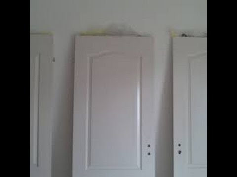 tuto comment r parer une porte howtobasic youtube. Black Bedroom Furniture Sets. Home Design Ideas