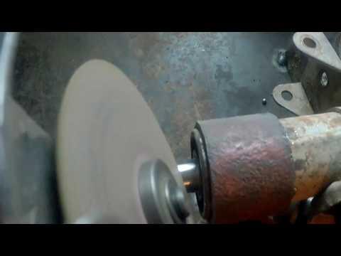 Как сделать шкив без токарного станка 52