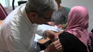 Santé : campagne de vaccination à l'IPS à Trappes