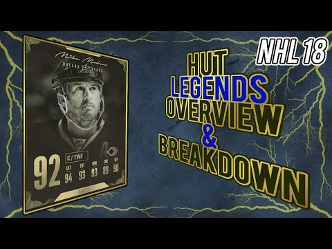 NHL 18 HUT | Legends Overview and Breakdown