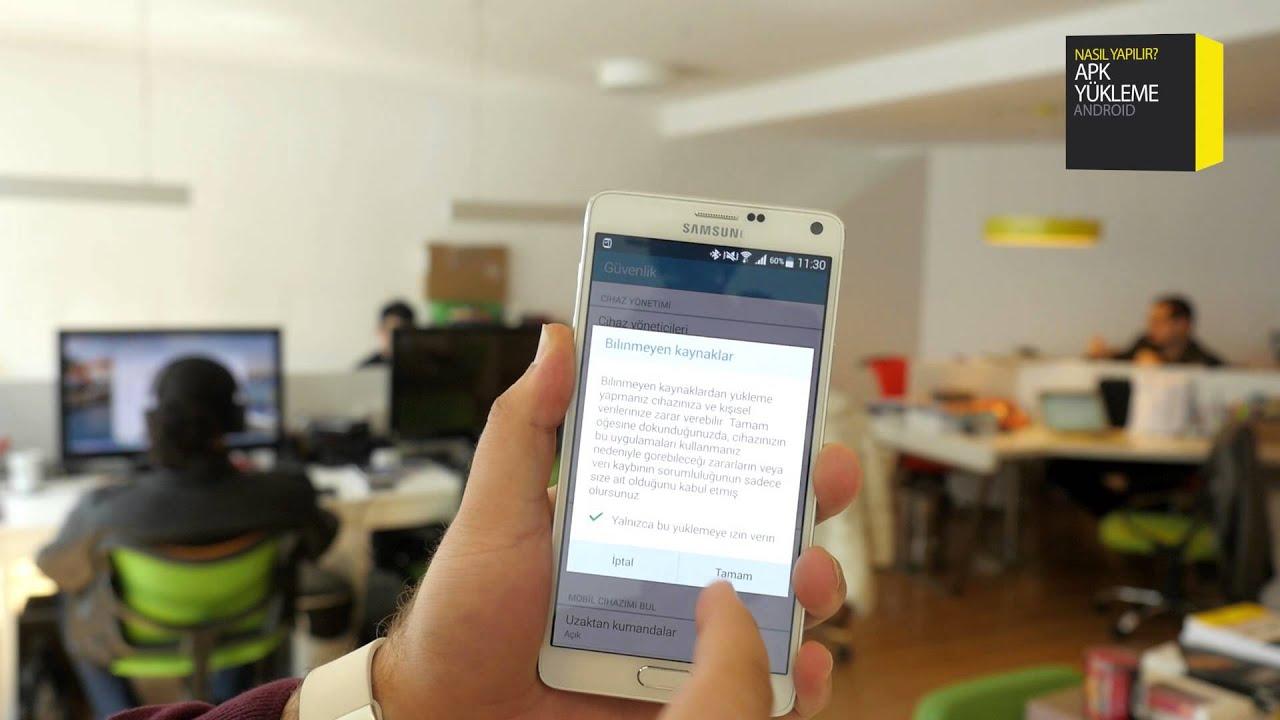Android'e Market Harici Uygulama Yükleme  #Smartphone #Android