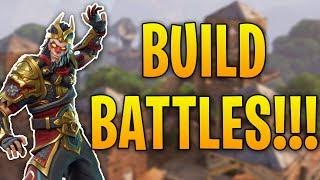 Build Battle Against Friends!!   Fortnite Battle Royale
