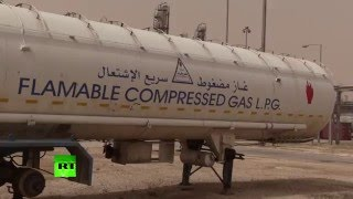 RAW: Inside one of Syria's largest oil & gas facilities retaken from ISIS