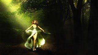 Уроки фотошопа Как создать лучи света