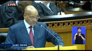 SONA 2015 ( Full President Jacob Zuma speech)