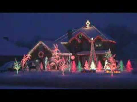 The Most Awesome Christmas Lights Display! EVER!!! - YouTube