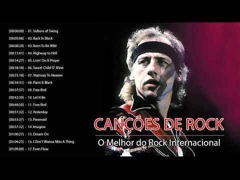 Rock Classico Internacional  - 100 Melhores as de Rock de Todos Os Tempos