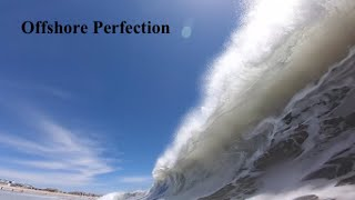 Insane Offshore Winds at Newport Jetties | Firing Waves | June 8th 2020