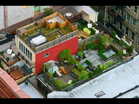 rooftop garden design ideas to your urban home - Rooftop Gardening Ideas