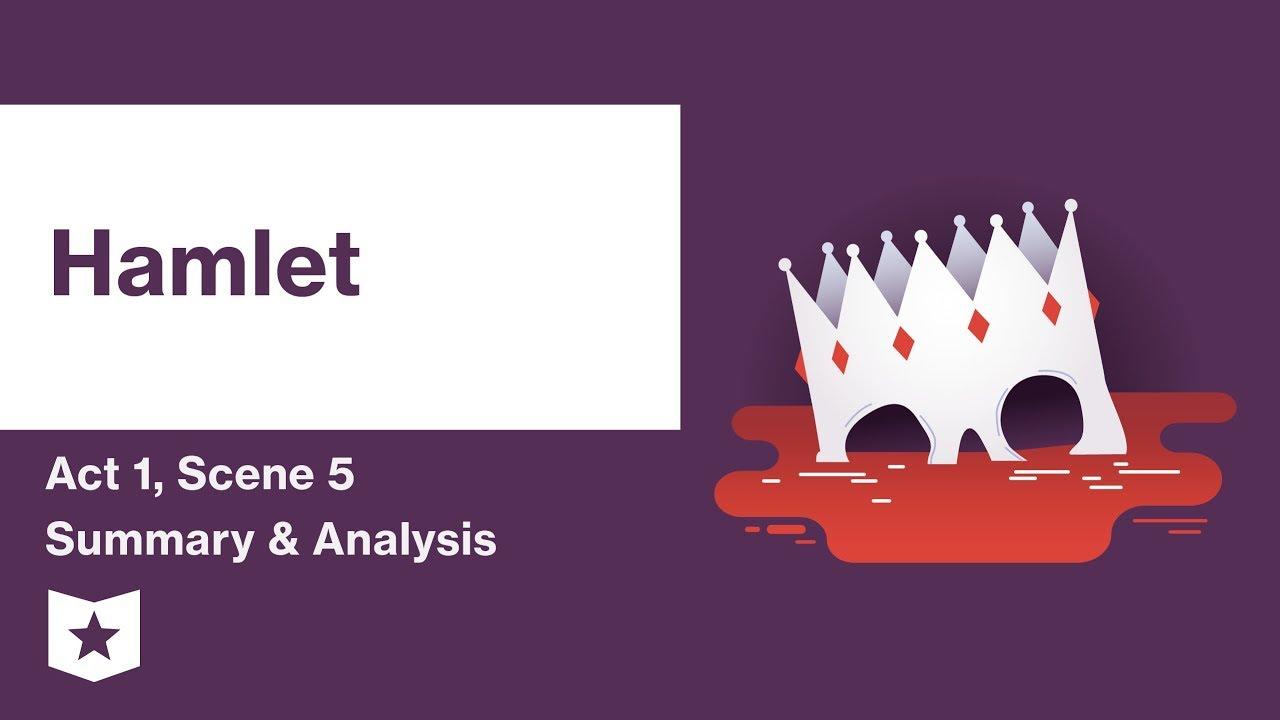 Hamlet By William Shakespeare Act 1 Scene 5 Summary Analysi Youtube Explanation