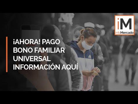 🔴 Atención Perú: Hoy 10 de octubre comienza el pago del segundo Bono Familiar Universal.