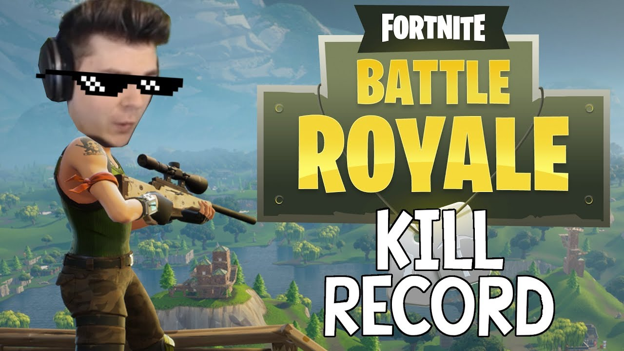 Fortnite Battle Royale 26 Kill Solo Former World Record