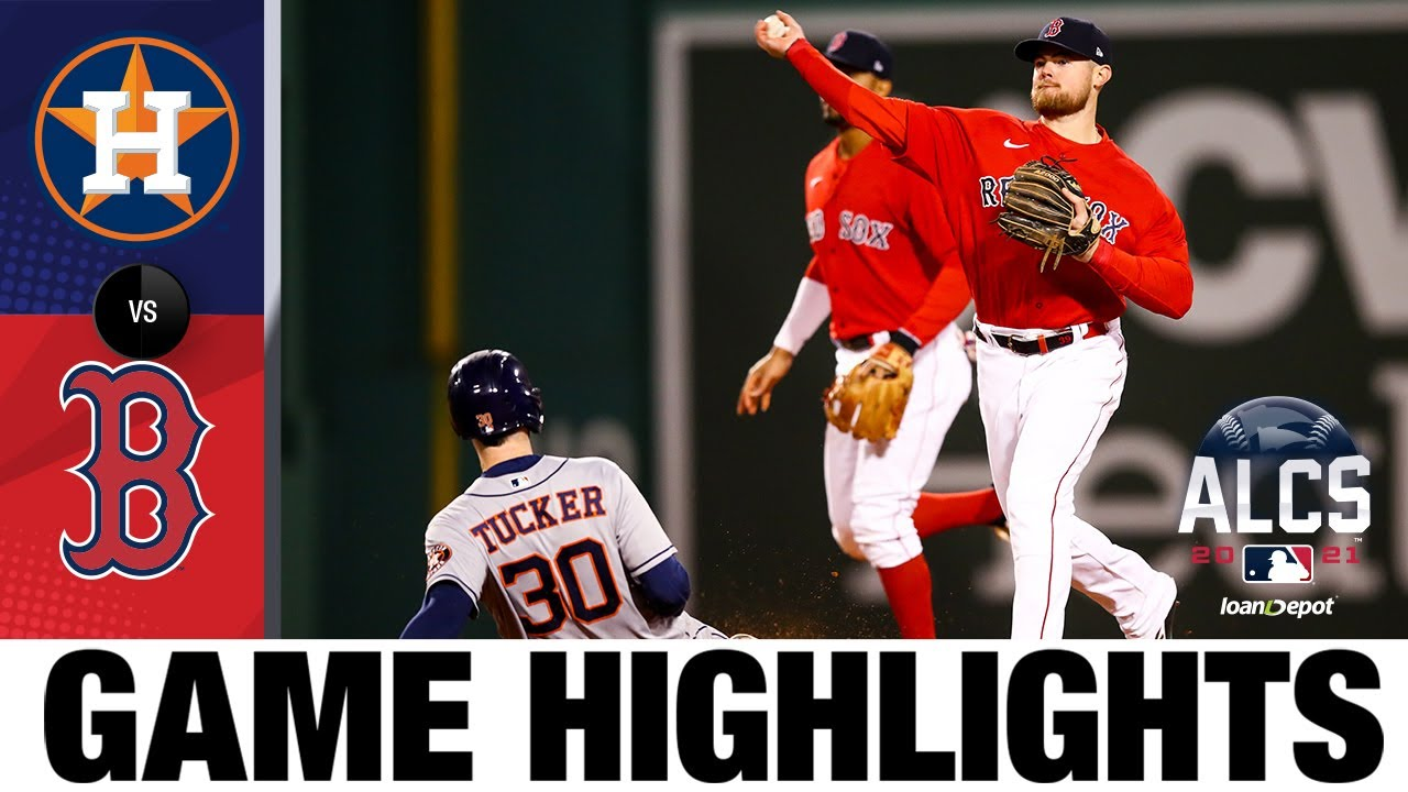 Download Astros vs. Red Sox ALCS Game 3 Highlights (10/18/21) | MLB Highlights