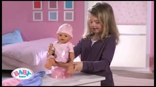 видео Кукла Zapf Creation Baby Born-Очаровательная малышка (43 см) (819197)