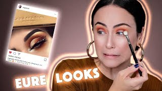 Ich schminke Zuschauer Looks nach 😂🤯Instagram Makeup Look 🔥Hatice Schmidt