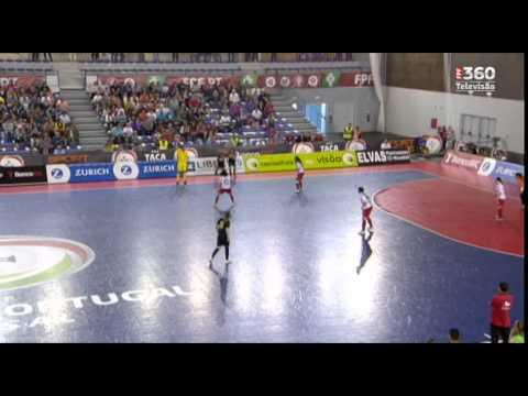 Futsal: golo incrível na vitória da Quinta dos Lombos na final feminina da Taça de Portugal