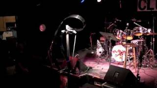Matt Heckert performed music with one of his machines at the Subter...