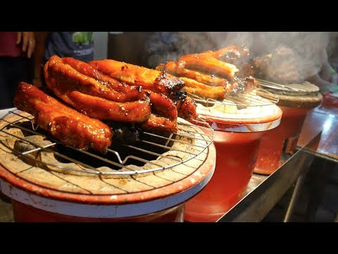 KUCHING STREET FOOD TOUR- Mouthwatering food SINIAWAN NIGHT MARKET |Food and Travel Channel |Sarawak
