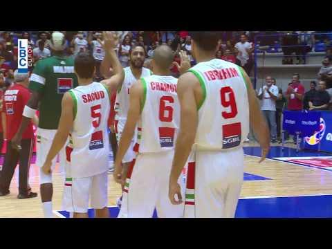 مبروك للمنتخب اللبناني فوزه على المنتخب الصيني ضمن تصفيات كأس العالم لكرة السلة  - 12:54-2018 / 9 / 17