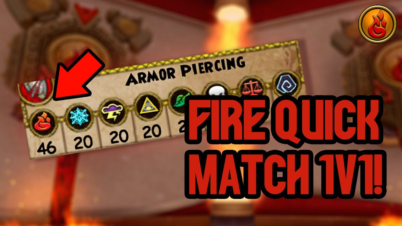 Wizard101 MAX LEVEL FIRE PvP (130): INTENSE Quick Match Tournament! (10k Crowns Giveaway!)