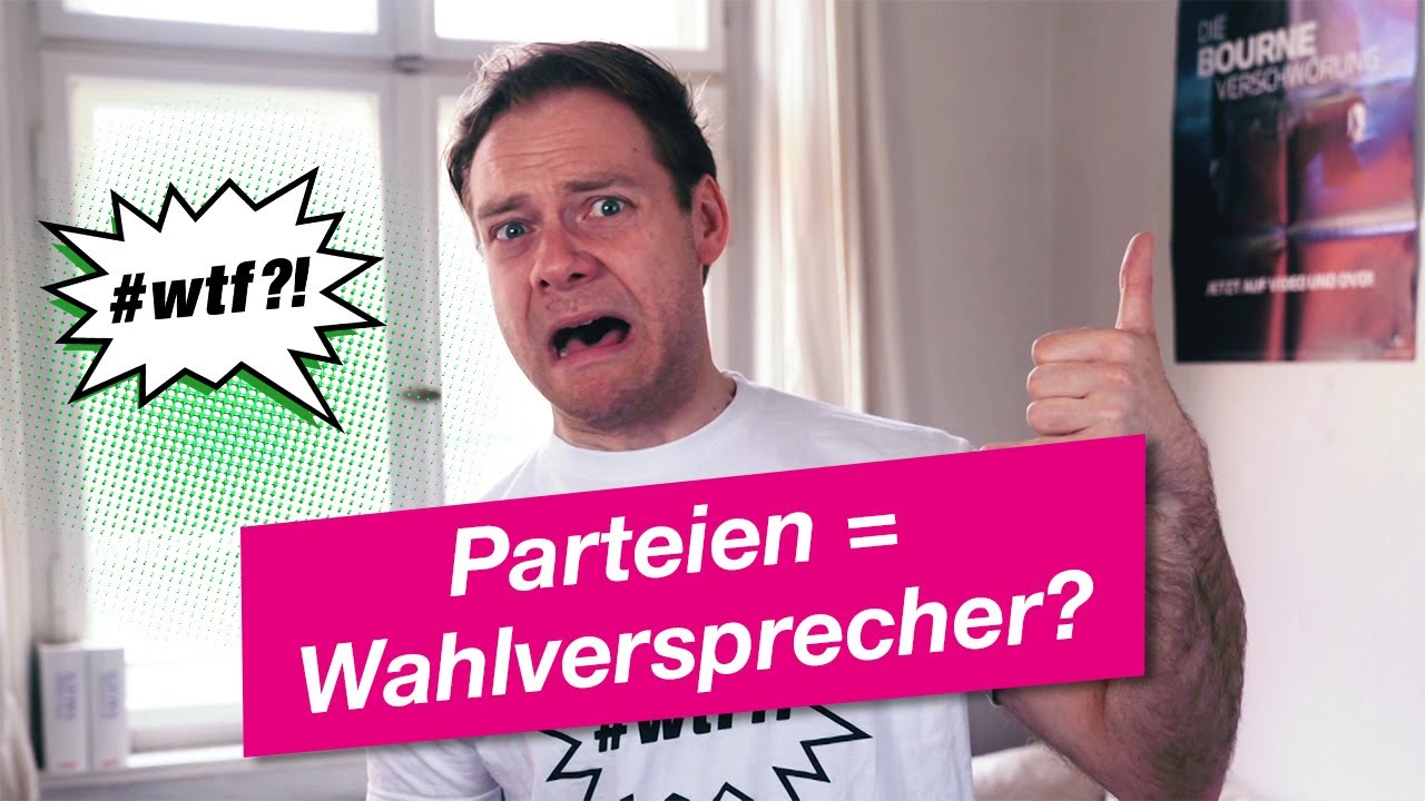 Youtube Video: Parteien = Wahlversprecher? #wtf?!