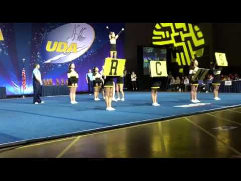 Reed Custer Middle School Cheer State