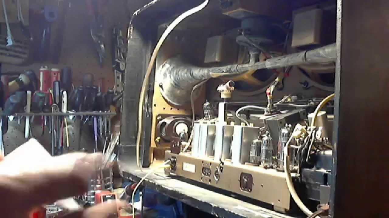 Loewe Opta 2841w German Vacuum Tube Radio Video 2