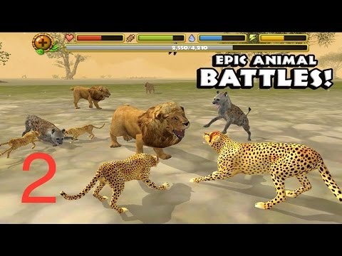 🐾#Cheetah Simulator 🐾- Part2 -# Gluten Free games - #iTunes/#Google Play