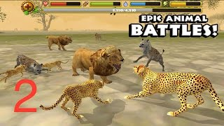 🐾#Cheetah Simulator 🐾- Part2 -# Gluten Free games - #iTunes/#Google Play(Played By 10 years old Joseph David Enter into the wild savanna and live the life of a Cheetah! Explore a vast grassy plain filled with ferocious animals of all ..., 2014-10-18T21:16:31.000Z)