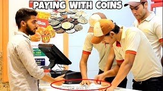 Paying Food Brands With Pennies | Amanah Mall | Prank In Pakistan