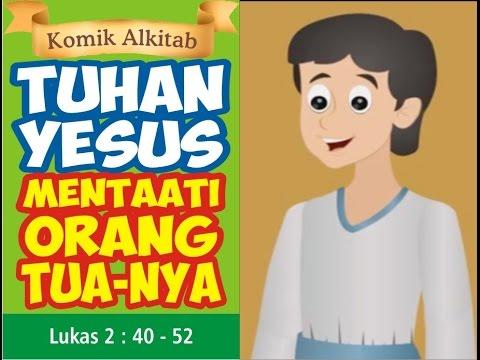 Tuhan Yesus Mentaati Orang Tua Nya Film Animasi Slide Cerita