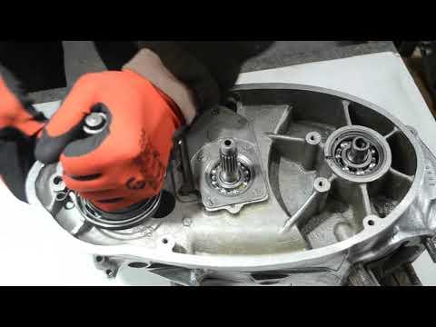 ИЖ 49, ремонт двигателя , главная передача, сцепление. часть5