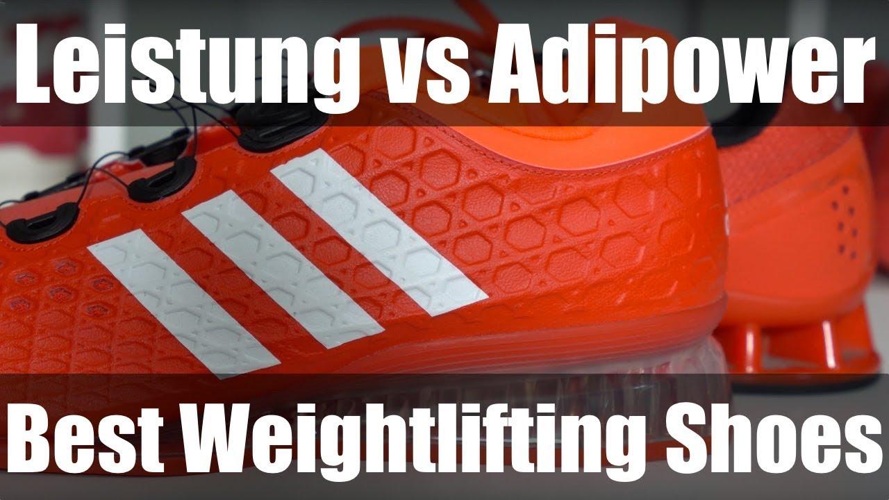 Los mejores zapatos adidas Leistung Vs Adidas Adipower weightlifting
