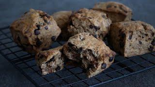 モカショコラスコーン|cook kafemaruさんのレシピ書き起こし