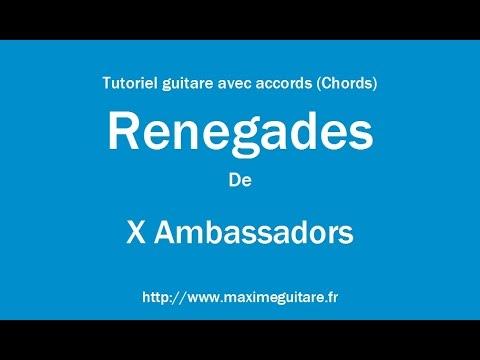 Renegades (X Ambassadors) - Tutoriel guitare avec accords (Chords ...