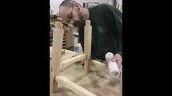 Craftsman Greg Smith Assembles Shinto Bench in Cherry