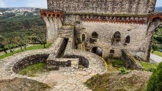 Средневековые замки. Замок Оурем. Португалия. Часть 6(Наш тур по замкам Тамплиеров. Последняя остановка дня - Замок Оурем. Music:
