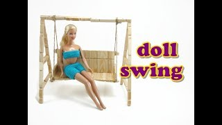 Doll Furniture Tutorial - Swing
