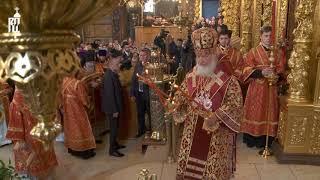 Во вторник Светлой седмицы Патриарх Кирилл посетил Свято-Троицкую Сергиеву лавру