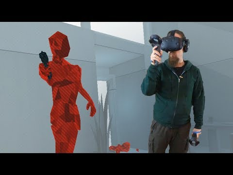 Skall in VR - Dual Wielding, Knoife and Frying Pan vs. Low-Poly Dudes