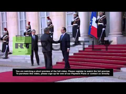 France: Hollande urges Africa to look after its own security