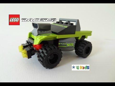 สอนต่อเลโก้รถแข่ง (วิดีโอรีวิวของเล่น)