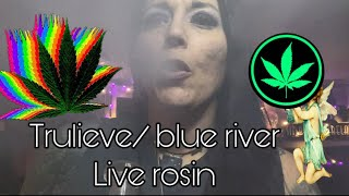 *New product * Blue river LIVE ROSIN #Crescendo #Trulieve #flmmj  #Sponsored #TrulieveConcentrates