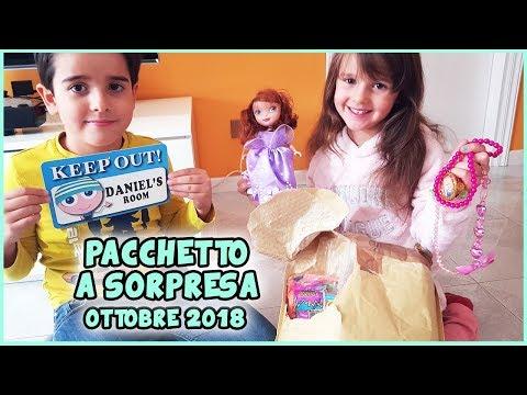 Pacchetto a sorpresa Ottobre 2018 by Zia Elena!