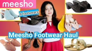 Meesho Haul   Meesho Partywear Footwear Haul   Meesho Designer Sandal/Heel/Flat Haul   Meesho