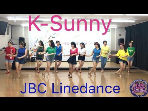K-Sunny Linedance(Junghye Yoon) Demo &Teach