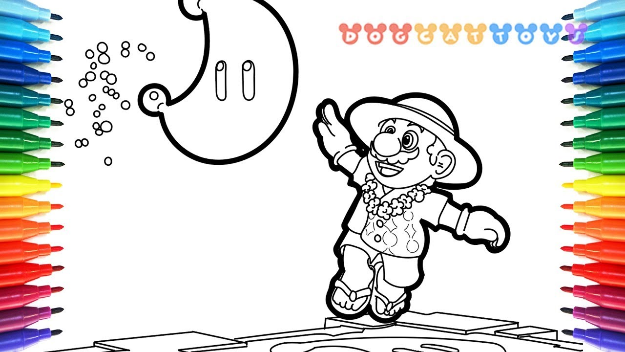How To Draw Mario Odyssey Aloha 32