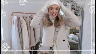PACKING FOR NYC ❄️ Planning WARM & chic outfits! ❄️ Vlogmas Part 5