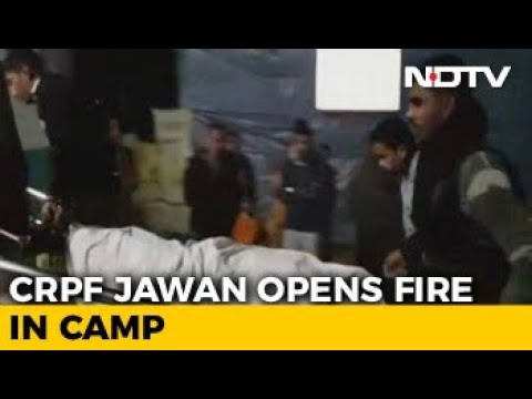 4 CRPF Jawans Killed, 1 Injured After Their Colleague Opens Fire